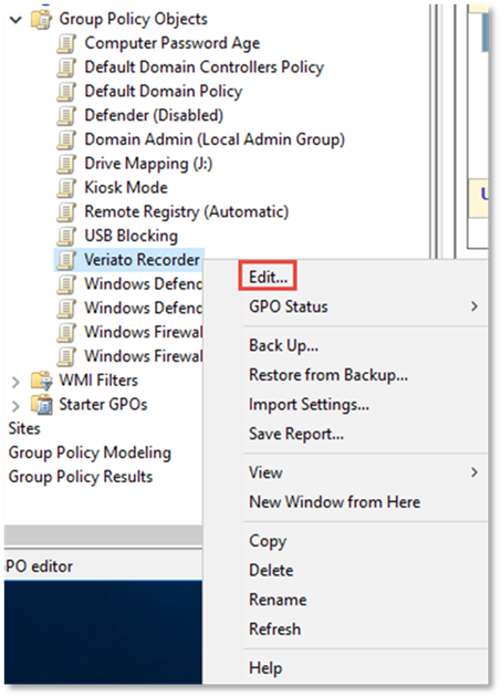 How to access group policy
